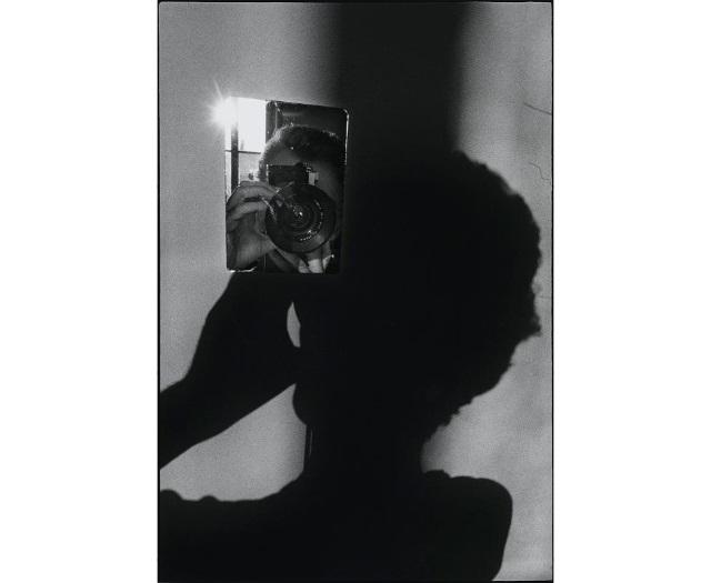 Ugo Mulas, L'opération photographique, Autoportrait pour Lee Friedlander (V2), 1970