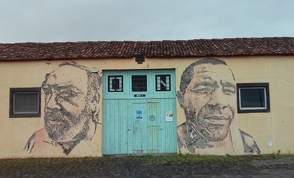 Alexandre Farto (Vhils), Ponta Delgada, 2011