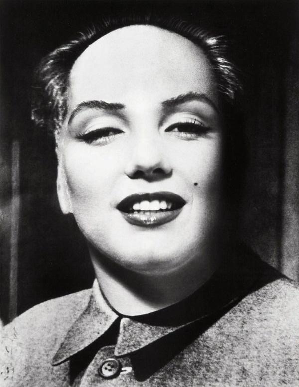 Philippe Halsman, Marilyn Mao Monroe, 1967
